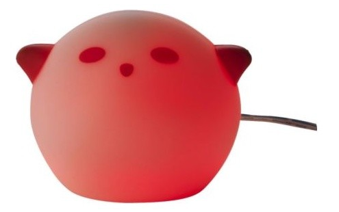 Ikea spoka red night light