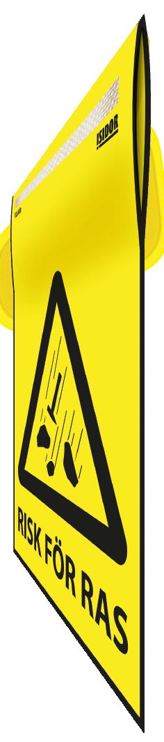 Flagga gul perspektiv Risk för ras 1.png