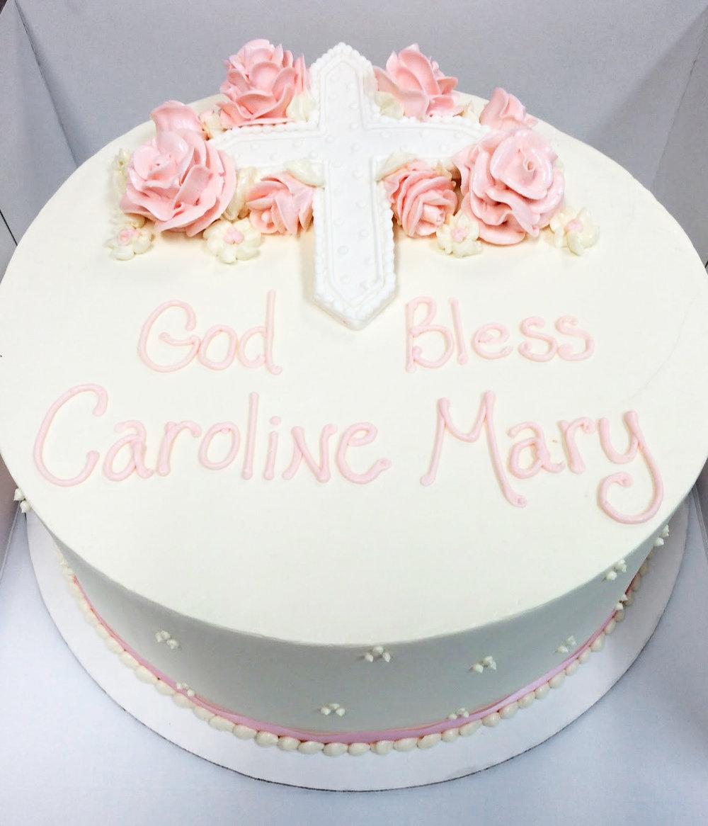 Baptism cake - fondant cross.jpg