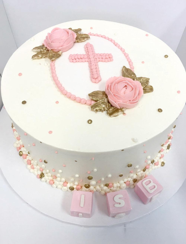 Christening baptism buttercream cake.jpg