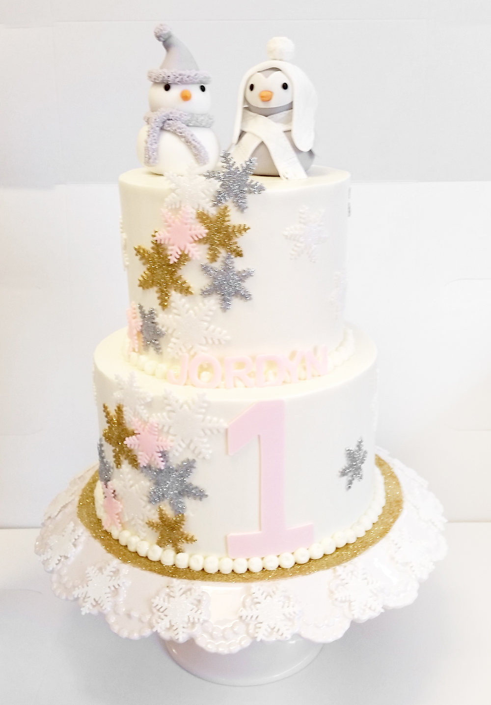 glitter snowflake toppers tiered cake.jpg