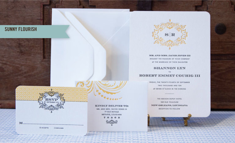 image courtesy of scripturacom - New Orleans Wedding Invitations