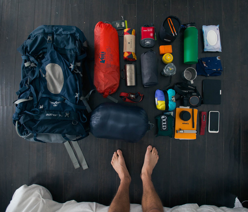 Pro Packing Tips - Minimalist DIY Backpacking on a BUDGET