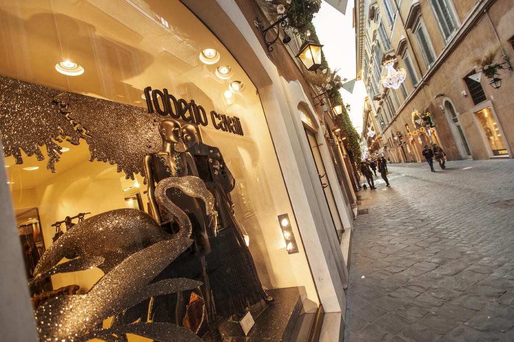 Roberto Cavalli big, but also niche. Image: iStock