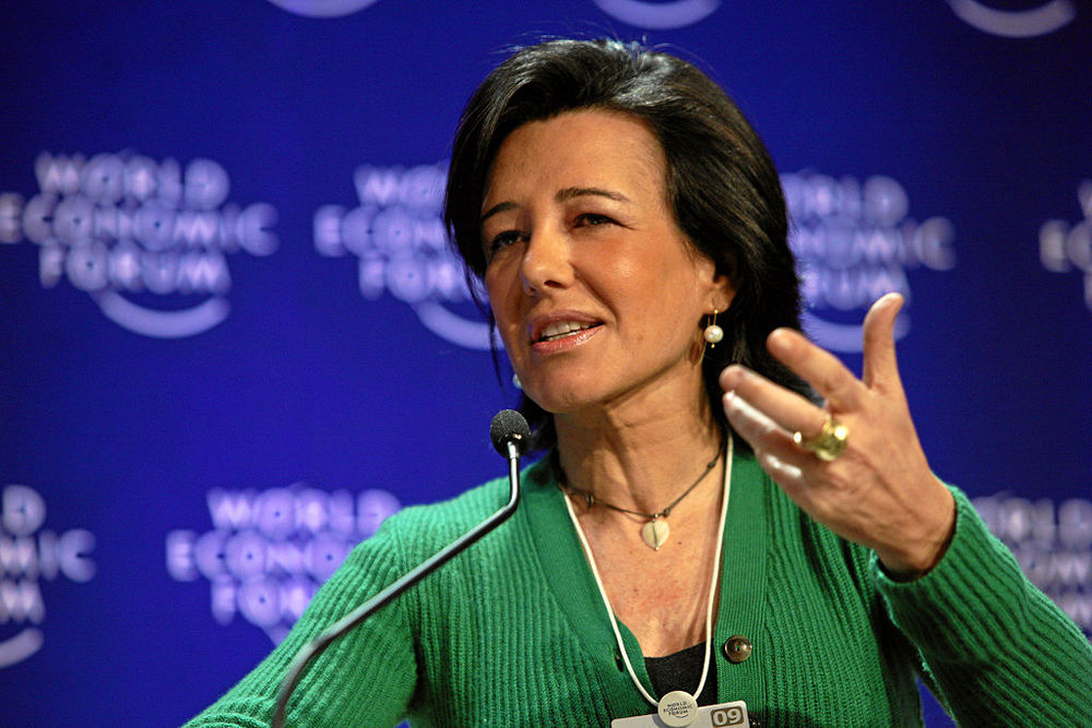 Ana Botin. Image: World Economic Forum