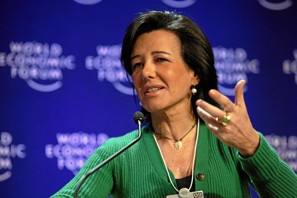 Ana Botin. Image: World Economic Forum