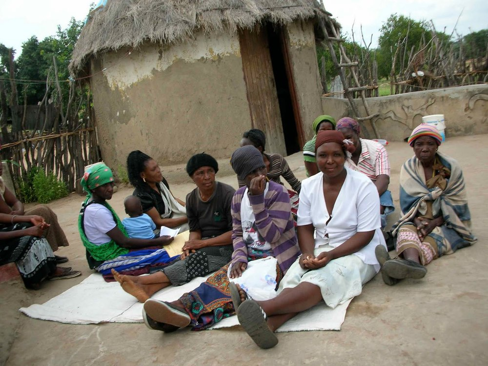 A microfinance meeting in South Africa. Image: GiveWell