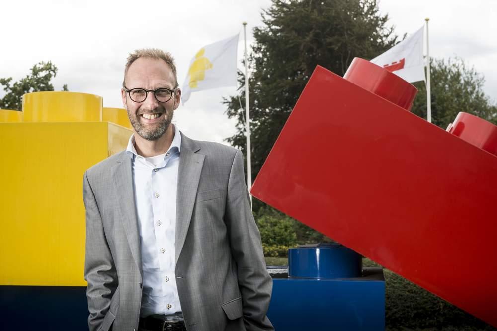 Lego's non-family CEO,Jørgen Vig Knudstorp.