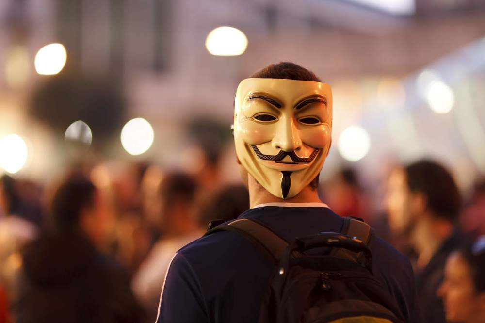 The face of anarchy? Photo: iStock.
