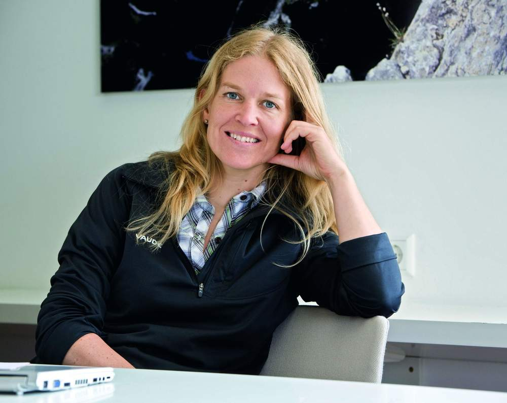 Antje von Dewitz, the second-generation CEO of Vaude.