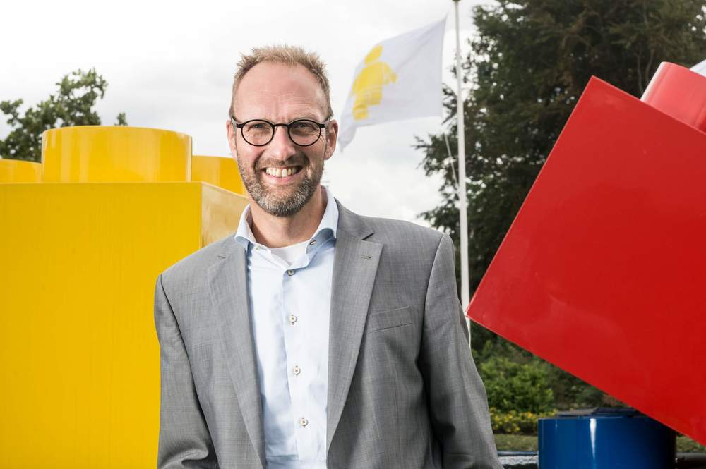 Jorgen Vig Knudstorp, CEO ofLego. Photo: Lego.