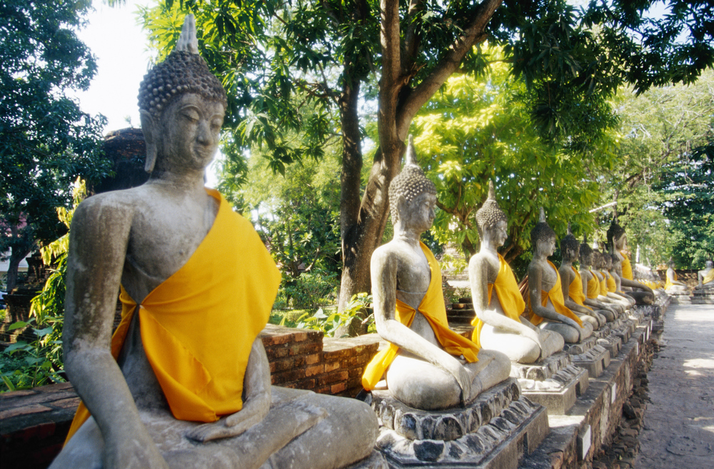 Buddhas in Thailand: wisdom comes in many forms. Photo by Brand X Pictures/Stockbyte / Getty Images