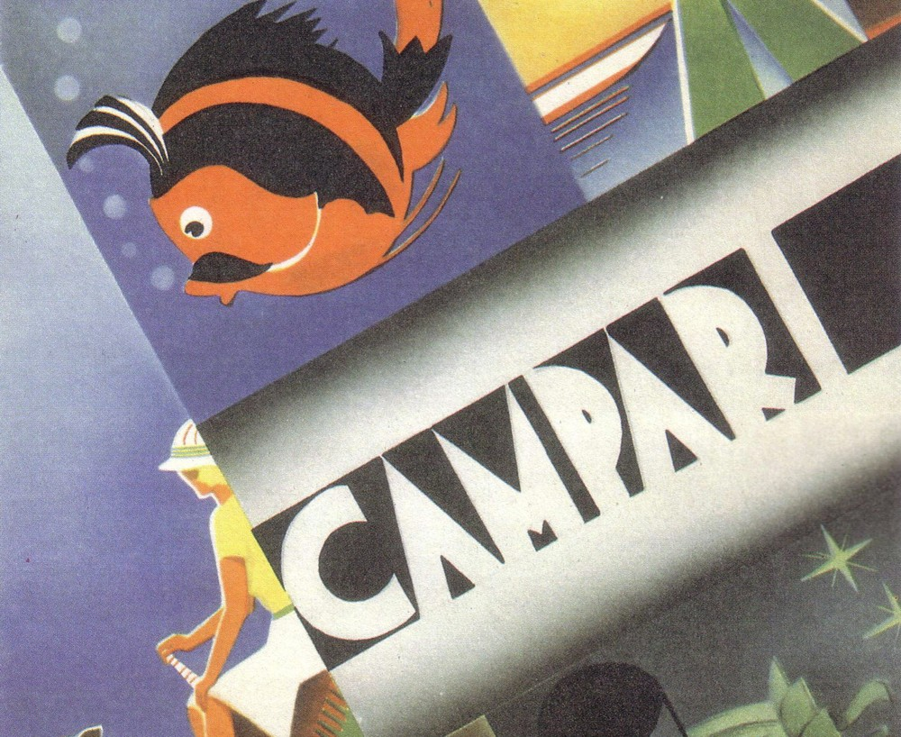 A historic advert for Campari, one of the firms that has taken advantage of the share scheme.