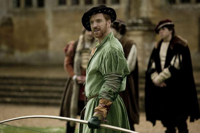 Damian Lewis as Henry VIII in the BBC's Wolf Hall.