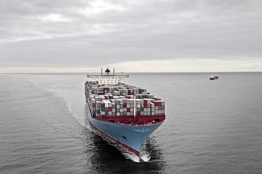 A Maersk liner. Image: Maersk.