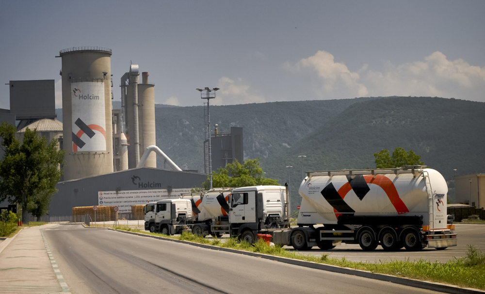 A Holcim plant in Serbia. Image from Holcim. Photographer: Branislav Jesic.