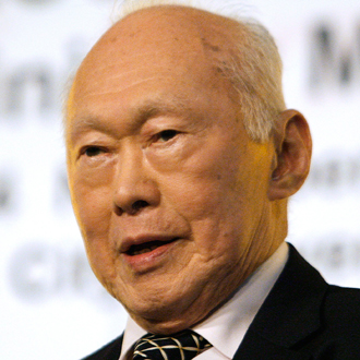Lee Kuan Yew. Photo from www.lee-kuan-yew.com