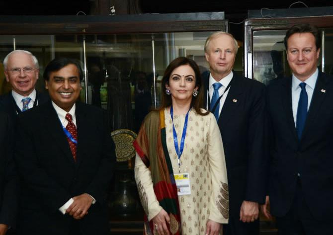 Nita Ambani moves centre stage. Image: Reliance Foundation.