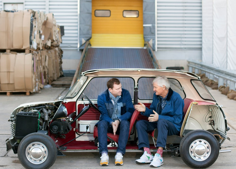 Jake and James Dyson. Image courtesy of Dyson.