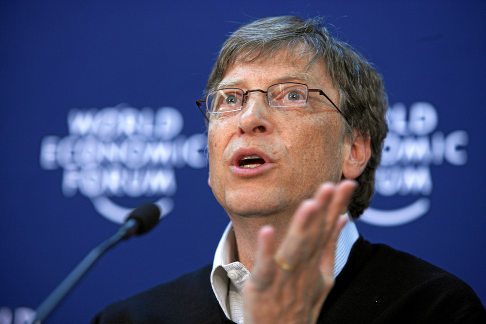 Bill Gates is Berkshire Hathaway's second biggest investor. Image: WEF.