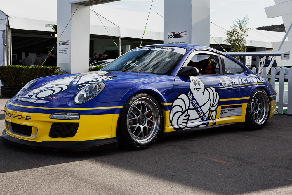 Porsche likes Michelin tires - photo: Curt Smith