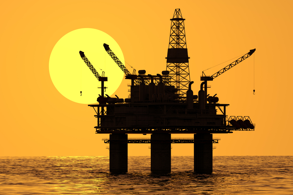 Petrovalves' products are used on oil rigs. Photo by Tomasz Wyszołmirski/iStock / Getty Images