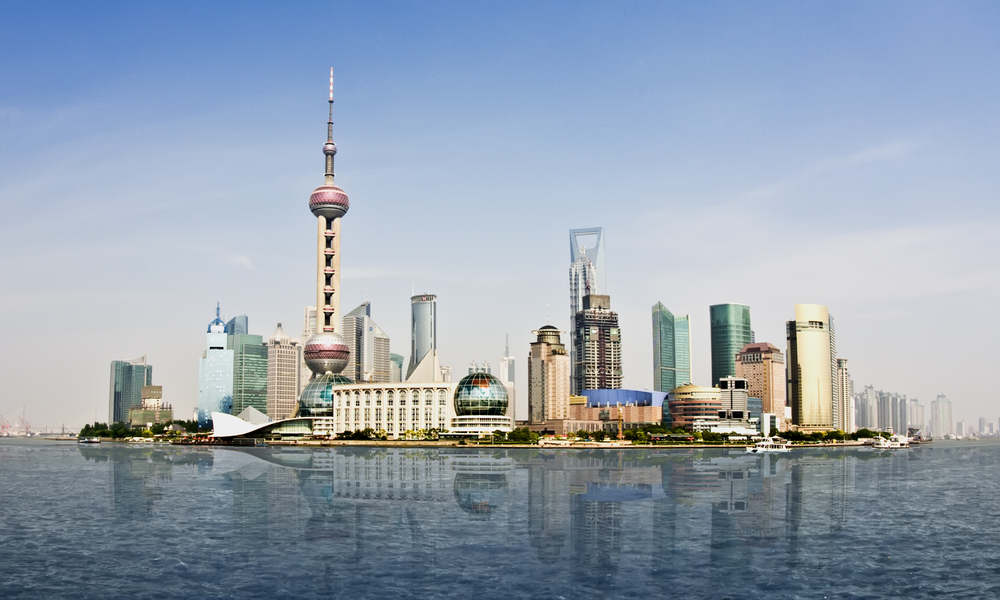 Shanghai - dominated by family firms. Photo by Scott Sporleder/Hemera / Getty Images