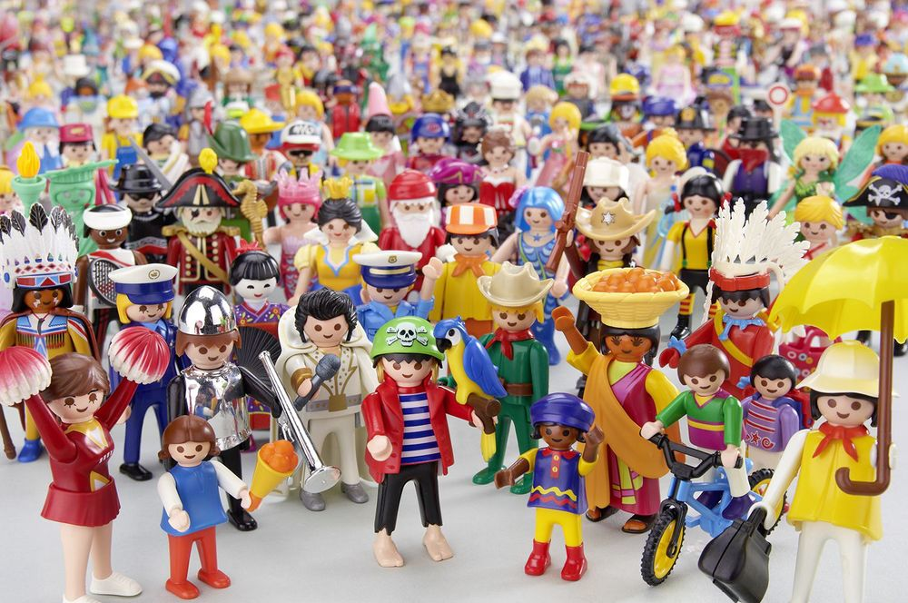 Playmobil: a model company. Image: Playmobil