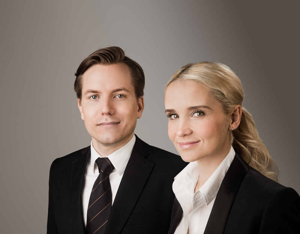 Jan Olszewski and his wife Margaretha, who is a partner in the business