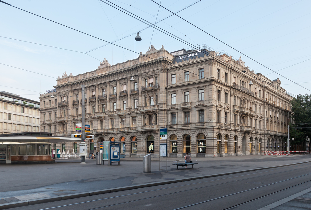 Credit Suisse's headquarters in Zurich.© Thomas Wolf,www.foto-tw.de