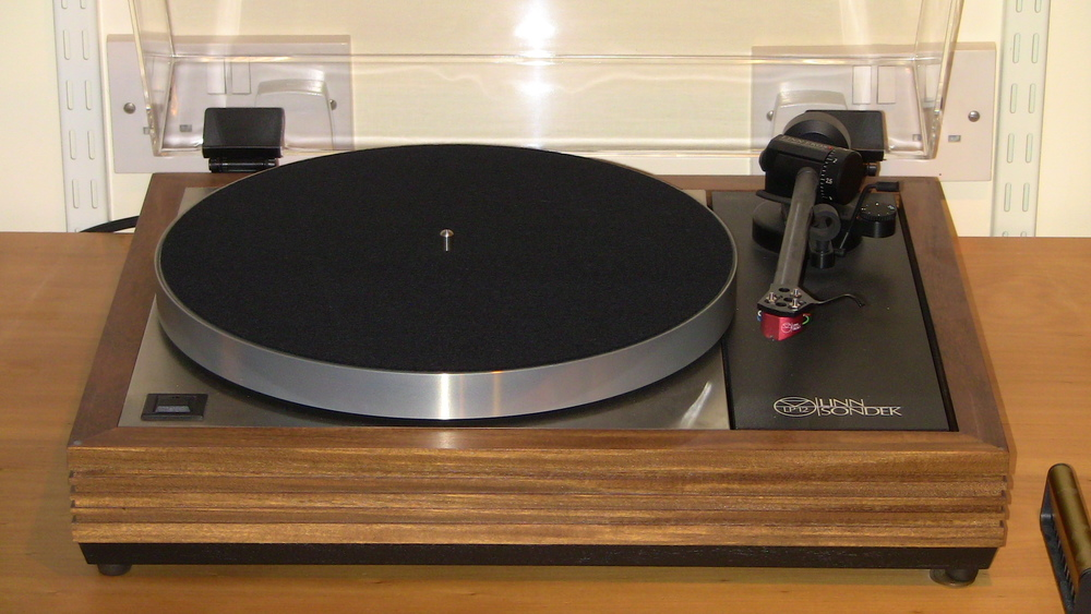 The iconic Linn Sondek LP12 turntable