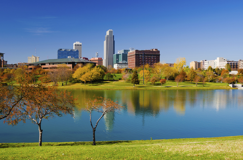 "Omaha, Nebraska - ""The cradle of capitalism""  Photo by Davel5957/iStock / Getty Images"