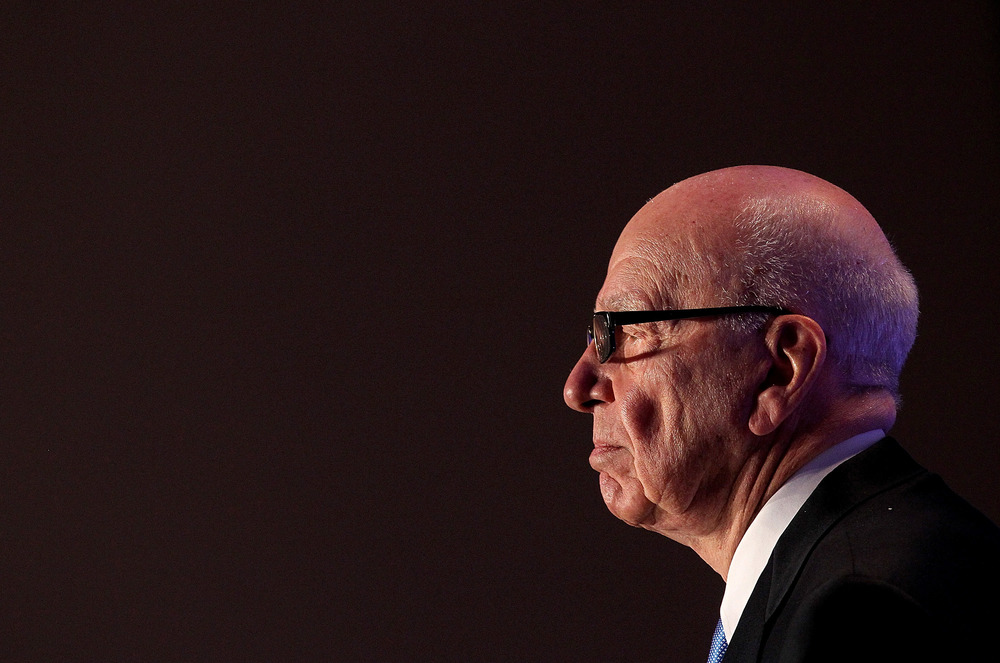Ruperty Murdoch - the ultimate second generationer  Photo by Justin Sullivan/Getty Images News / Getty Images