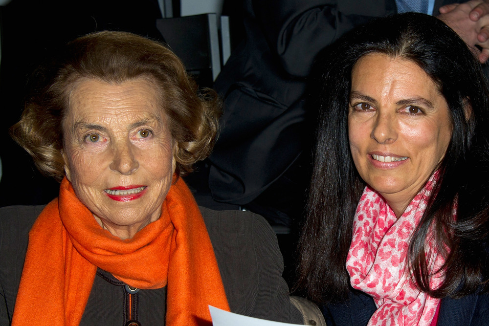 Liliane Bettencourt, left, the world's 11th wealthiest person. She is pictured with her daughter, Francoise Bettencourt Meyer  Photo by Pascal Le Segretain/WireImage / Getty Images