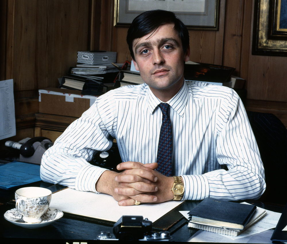 The 6th Duke of Westminster - some years ago - who runs one of the world's biggest property dynasties
