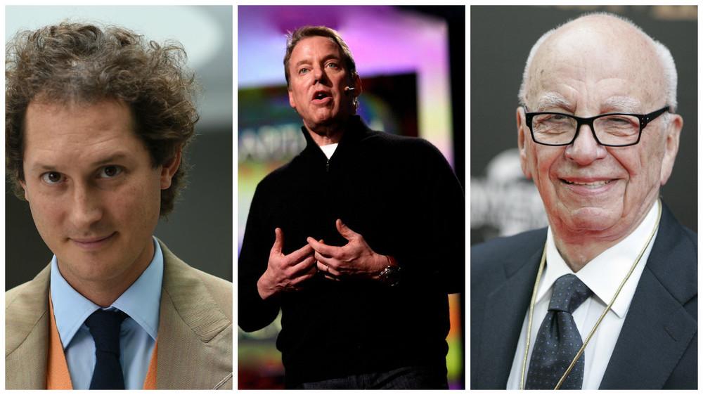 The links between family business dynasties...John Elkann, Bill Ford, and Rupert Murdoch