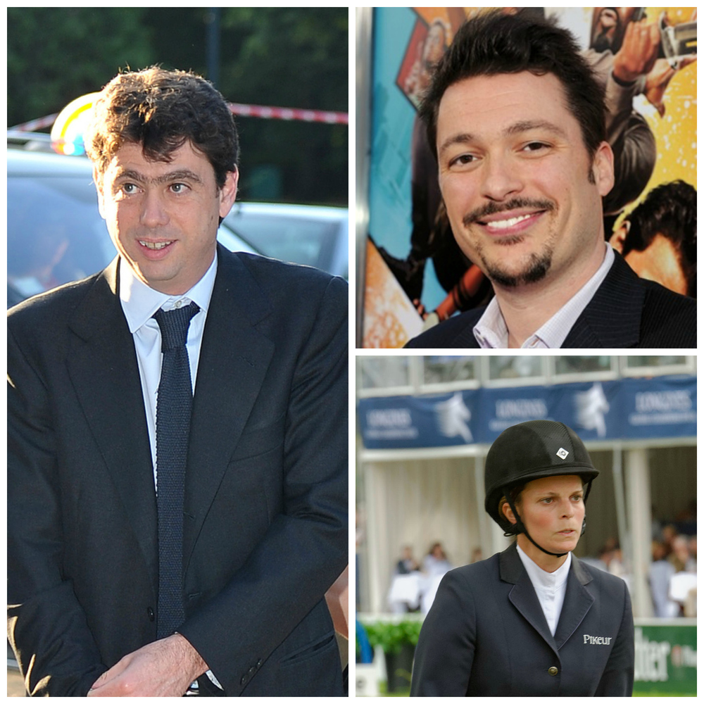 Illustrious dynasties - Andrea Agnelli (main picture), James Vanderbilt, and Athina Onassis Photos: Wiki Media, Getty Images