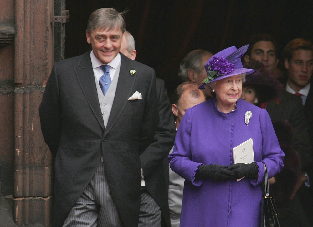 The Duke of Westminster with the Queen  Photo by MJ Kim/Getty Images Entertainment / Getty Images