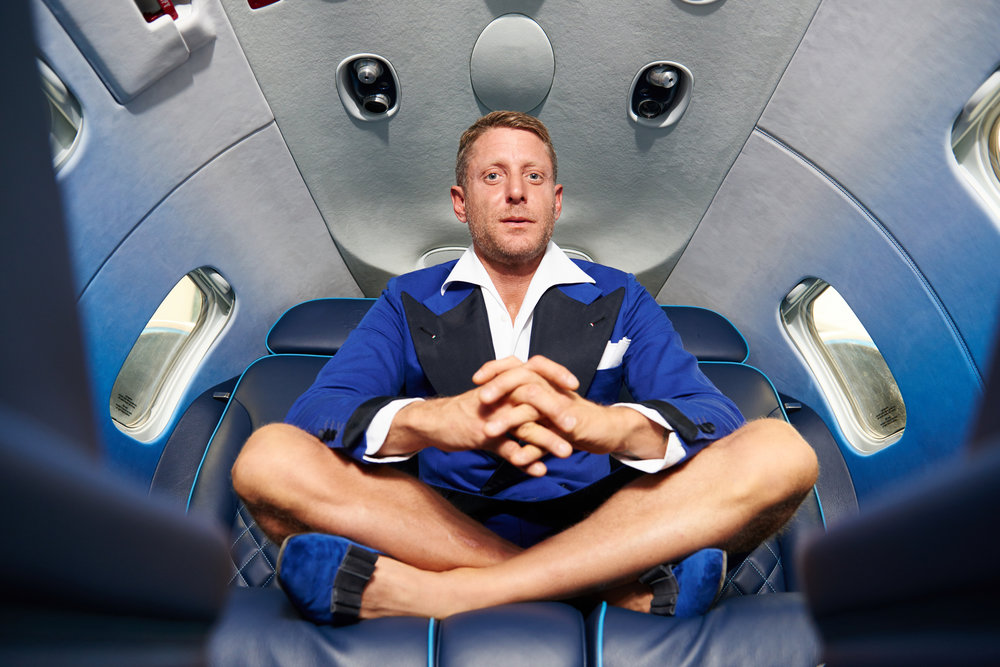 Lapo Elkann      Photo by Guido De Bortoli/Getty Images Entertainment / Getty Images