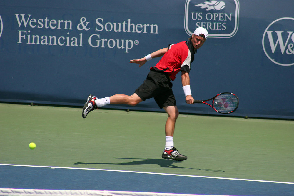 Lleyton Hewitt's family office has backed an Aussie startup...               Photo: James Barrett, Wikimedia