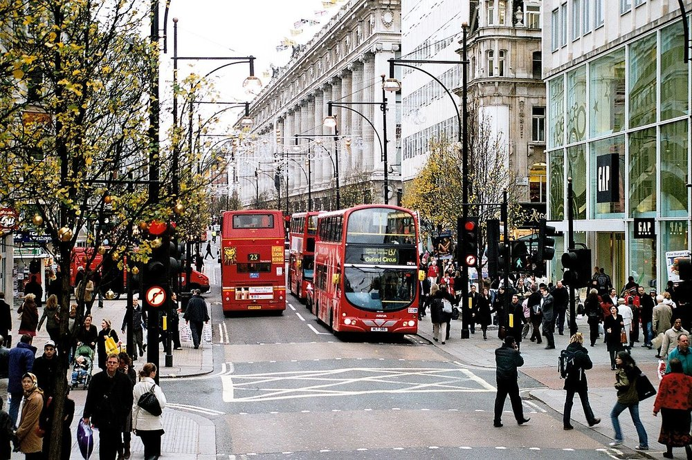 Oxford Street, London, where Ortega has a large property holding.  Photo: Wikemedia, Ysangkok