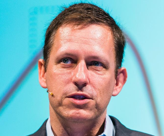 Peter Thiel - not a fan of cleantech  Photo: Wikimedia, Dan Taylor