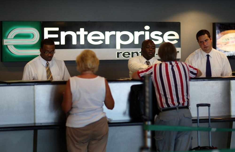 Family-owned Enterprise Holdings, which owns the rental car business, embraced corporate venturing and made a lot of money from it. Photo by Joe Raedle/Getty Images News / Getty Images