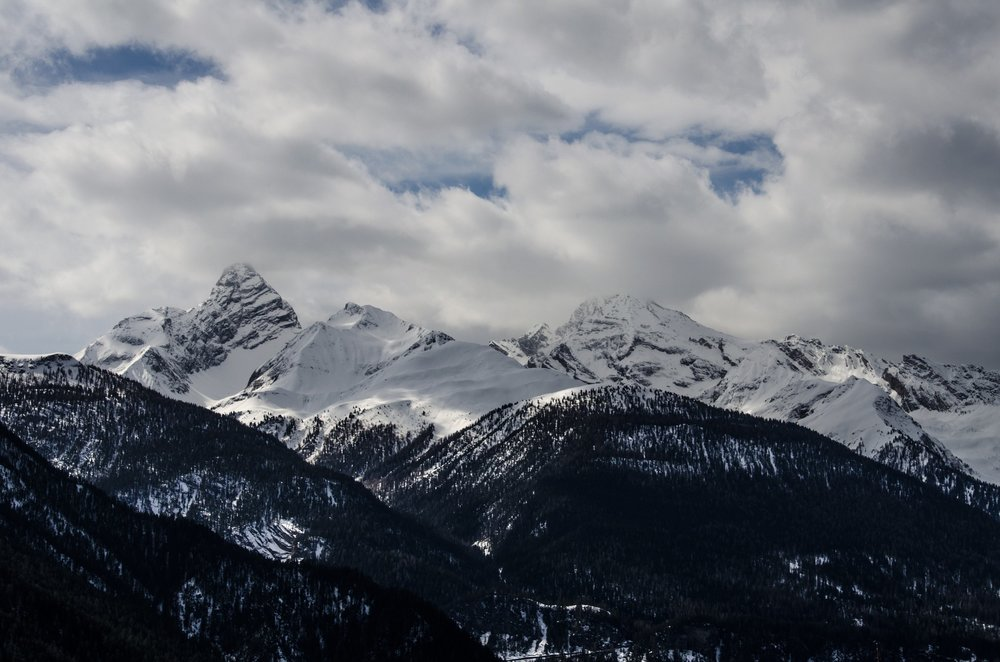 The mountains above Davos    Photo: Pixabay