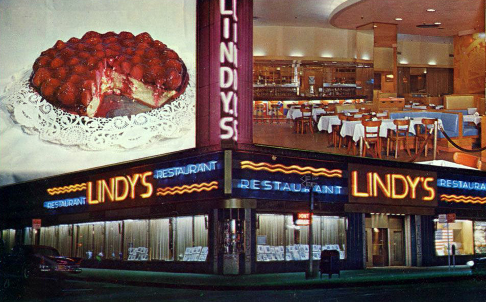 Lindy's restaurant in New York City where the Lindy Effect was first observed    Pic: Wikimedia