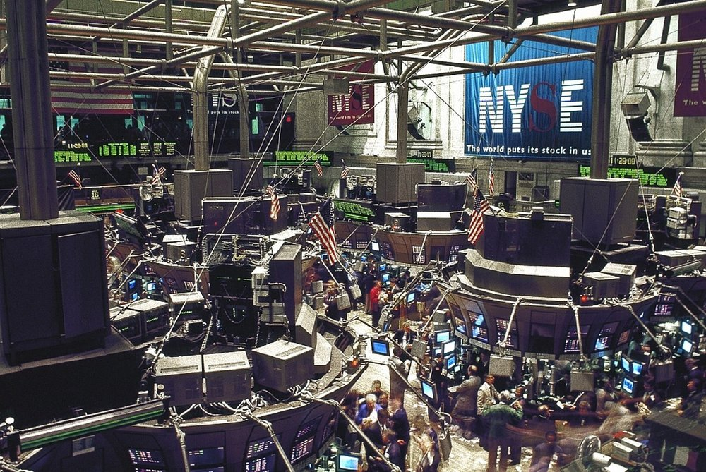 The New York Stock Exchange is shrinking fast                 Photo: Pixabay