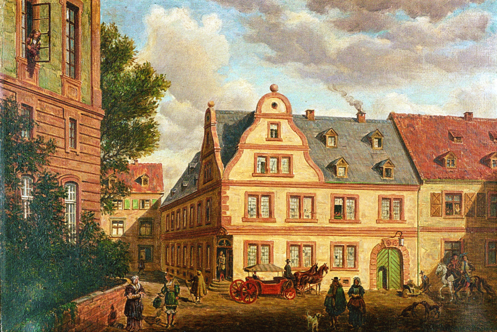 Original headquarters: The German pharmaceutical group Merck was founded in 1688. Now it's a €13 billion multinational    Picture: WikiMedia