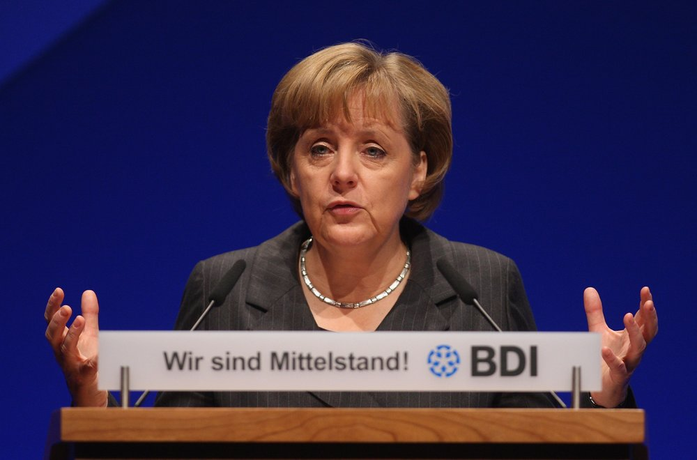 No one knows more about how important the Mittelstand are to the German economy than the country's leader, Angela Merkel       Photo by Sean Gallup/Getty Images News / Getty Images