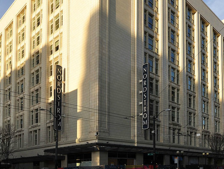 Nordstrom - a 100-plus year-old family business looking to do a buyout     Photo: Wikimedia