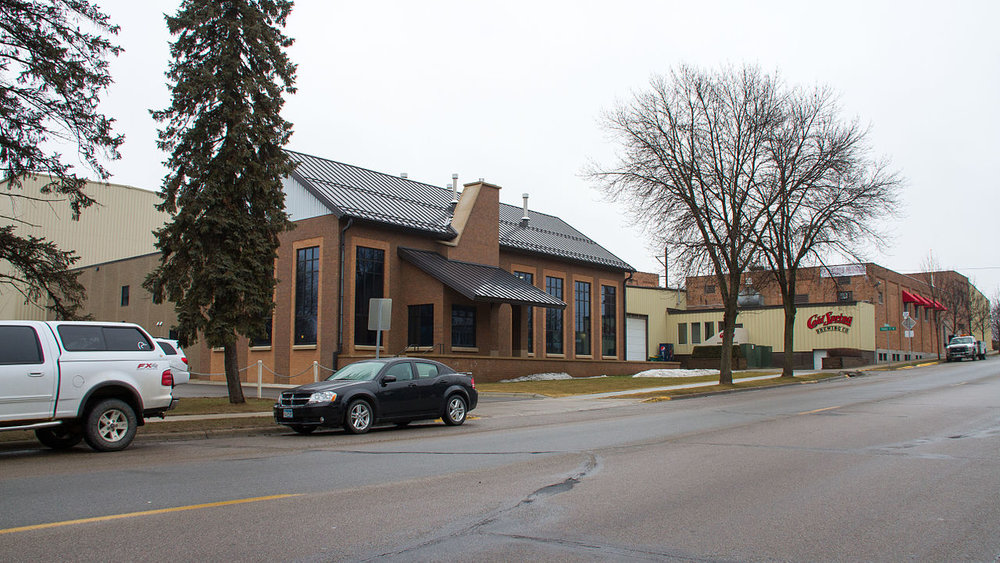 The Cold Spring Brewery in Cold Spring, Minnesota         Photo: WikiMedia